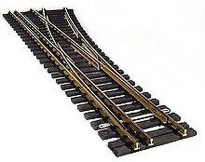 Railroad Track Right Gauge 2 (64 mm) and G Scale Length 800 mm. R=3 000 mm,15° +