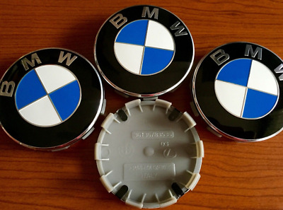 felgendeckel bmw 4xnabendeckel 68 mm nabenkappen bmw logo. Black Bedroom Furniture Sets. Home Design Ideas