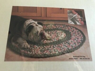 NEW Southwest Knit Braided Rug Kit Oval KR090 National Yarn Crafts NYC