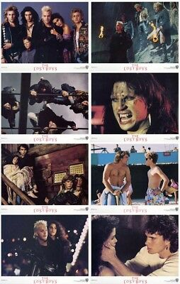 The Lost Boys Lobby Cards (1987) Complete Set of 8