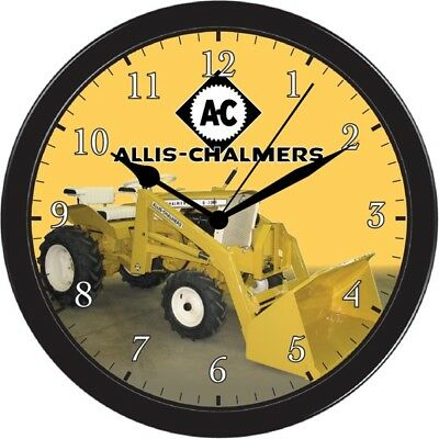 ALLIS CHALMERS FARM Garden Tractor Wall Hanging Clock Watch