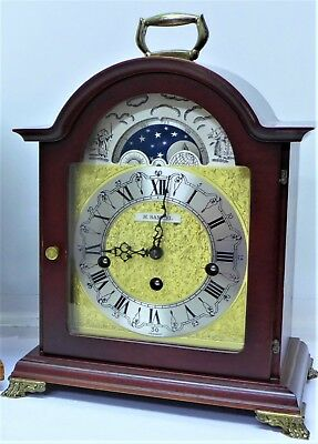 Vintage Franz Hermle Moonphase Clock, Not Working