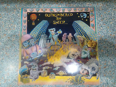 VARIOUS - Outnumbered By Sheep / Near Mint  Vinyl / SELTEN!