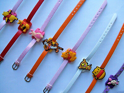 SHOE CHARM BRACELETS (V1) - inspired by CUTE BEAR, PIGLET & TIGER CHARACTERS