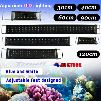 30CM-120CM Aquarium LED Light Lighting Full Spectrum Aqua Plant Fish Tank Lamp