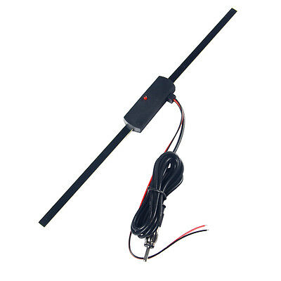 Auto Car Hidden Amplified Antenna 12V Electronic Stereo AM/FM Radio Universal YS