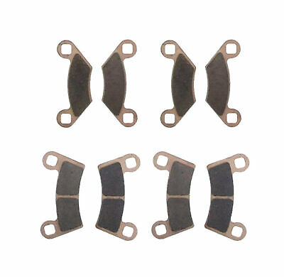 2011 2012 Polaris Razor RZR 800 Front and Rear Severe Duty Brake Pads