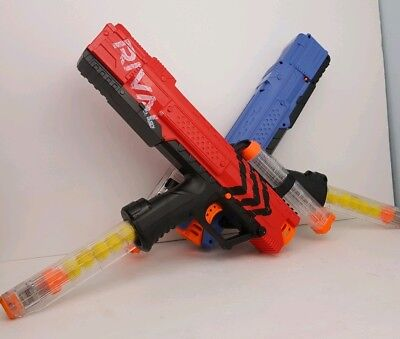 Team Red&blue Nerf Blaster Precision Battling Soft Dart Gun Rival Apollo Xv-700