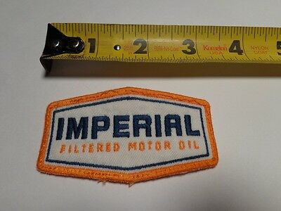 Imperial Motor Oil Patch For Cap/ Hat / Work Jacket / Mechanic / Rockabilly /
