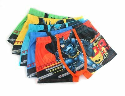 Toddler Baby Boys Cartoon Batman Boxer Briefs Cotton Underwear Kids Close Model