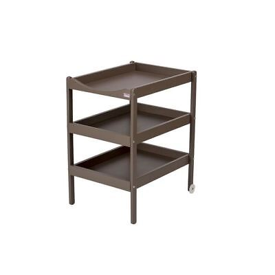 COMBELLE Table a langer Susie 3 Plateaux laque taupe
