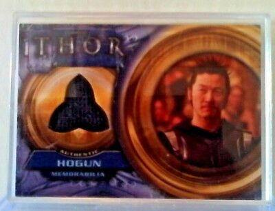 thor movie memorabilia trading card Hogun
