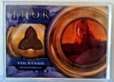 thor movie memorabilia trading card Volstagg