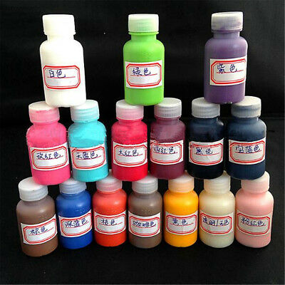 1 Bottle 30ml Leather Edge Oil Paint DIY Handmade Goods 6 Colors