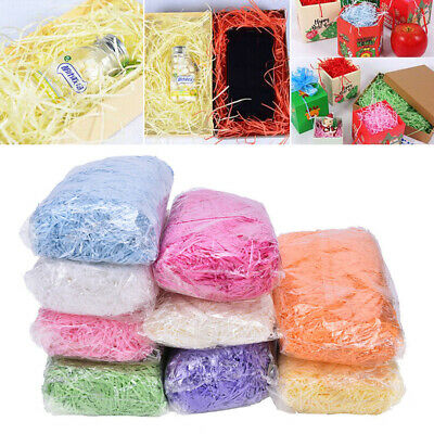 100g/Pack Shredded Tissue Paper Baker Filler Package Wrap Gift Box Bags Hamper