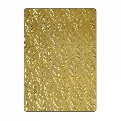 Sizzix 3D Textured Impressions Embossing Folder Feathers 661257