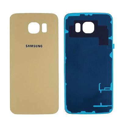 New Back Door Battery Glass Rear Cover Case For Samsung Galaxy S6 edge DL