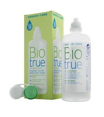 300 ml (14,29€/L) Bio True All-in-One Lösung für Kontaktlinsen PZN 9539545 OVP