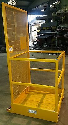 Forklift Safety Access Platform Man Cage Basket - Lift Up Bar £395 + VAT