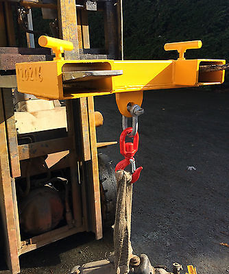 Forklift Lifting Jib Lifting Hook - Model FJ1A - £100.00 Each + VAT