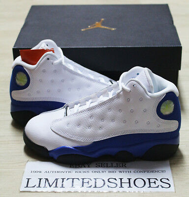 765bbb783067 NIKE AIR JORDAN 13 XIII RETRO PS WHITE HYPER ROYAL BLUE 414575-117 ITALY  kids
