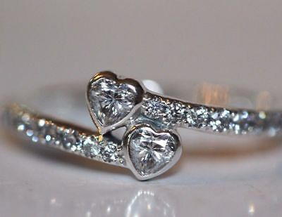 Genuine Silver S925 Forever Hearts Heart Ring Size 58 Limited Intro Offer