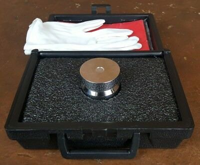 Henry Troemner 2 kg Calibration Weight * Stainless Steel * Class 2 * Nice
