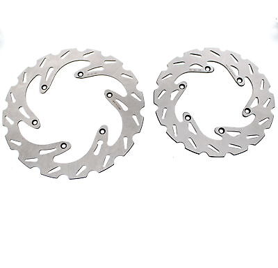1998 - 2003 KTM 250 EXC Front and Rear RipTide Brake Rotor Discs