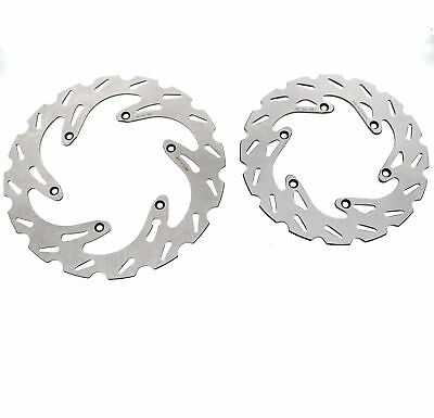 2004 - 2010 KTM 250 EXC Front and Rear RipTide Brake Rotor Discs