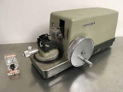 Sorvall JB-4 Microtome With DuPont Diamond Knife Used Excellent
