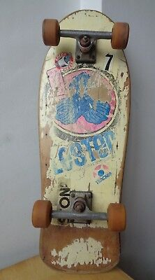 Lester Kasai Tracker Vintage 80s Skateboard Complete Original Set Up