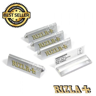 100% Genuine Made in Belgium Small Silver Rizla Cigarette Smoking Rolling Papers