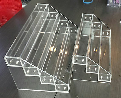 Acrylic Nail Polish Display Stand Rack - 3 or 4 or 6 Tier (Level)