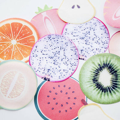 Fruit Memo Flags Pad Sticky Notes Notepad Bookmark Paper Sticker Office Supply