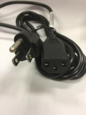 DELL 6FT 3-PRONG SPT-2 COMPUTER DESKTOP PC SERVERS AC POWER CORD CABLE 5120P USA