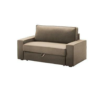 Ikea Vilasund Cover For 2 Seat Sofa Bed Dansbo Beige 102 430 55