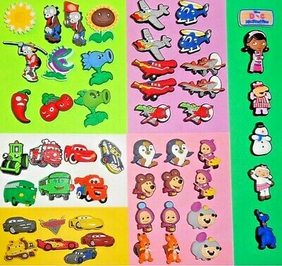 Cartoon, Movie, Game  Shoe Charms Kids Sets for fits Jibbitz Clogs Crocs