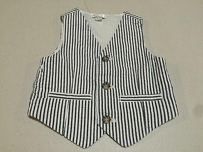 NWT Gymboree Family Brunch Boys Vest Seersucker Striped Many Sizes