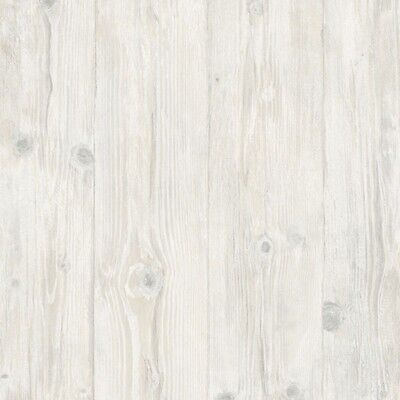 Wood Plank Wallpaper LL29501 weathered knotty scrubbable gray tan prepasted