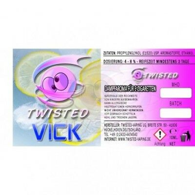 Twisted Aroma Vick by Twisted 10ml