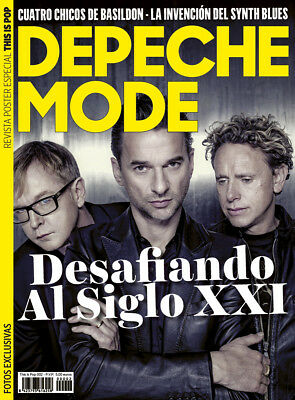 This is Pop Magazine Spain Issue 02 - December 2017 Depeche Mode 30 full pages
