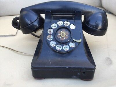 Vintage Bell System Western Electric 302 Rotary Dial LUCY Telephone