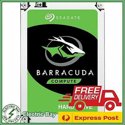 Seagate Barracuda 1TB 2TB 3TB 4TB 3.5'' SATA Internal Desktop Hard Drive HDD