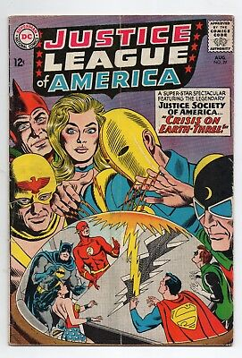 Justice League of America #29 First Appearance Crime Syndicate!!! 1st Print 1964