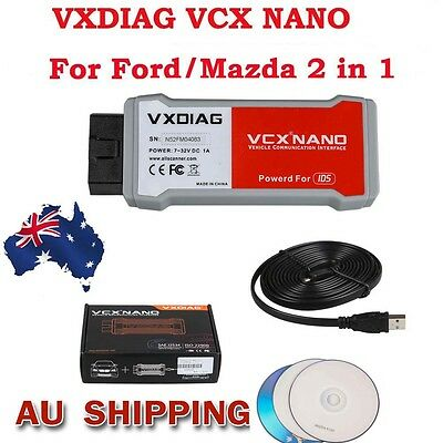 From AU VXDIAG VCX NANO 2 in 1 with IDS V104 Diagnostic Scan Tool for Mazda