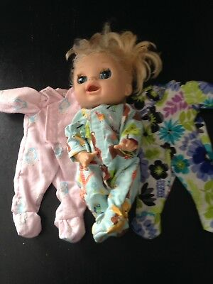 Homemade Baby Alive Coverall - 3 Pattern Choices