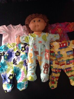 Homemade Cabbage Patch Coverall - 5 Pattern Choices