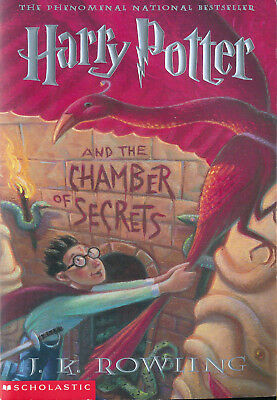 Harry Potter and the Chamber of Secrets [Harry Potter #2] by J. K. Rowling (pb)