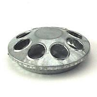 NEW Feeder - Galvanised Chick - round Poultry Equipment