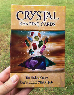 Crystal Reading Cards, The Healing Oracle Cards Set by Rachelle